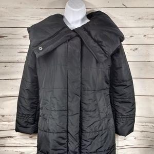 Calvin Klein Black Puffer Coat Sz XS